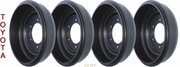 Brake Drum - Set of 4ea -  1963-7/80 - TOYOTA