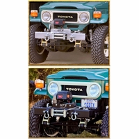 Bumper ~ HFS™  ~ Shackled w/8274 Winch Plate