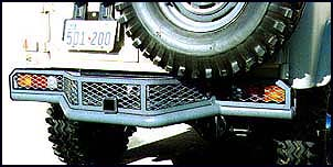 Bumper, Rear, Safari, FJ-40