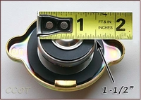 Cap Plug Measures 1-1/2""