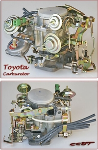 Carburetor  ~  Toyota  ~  FJ40  FJ60 ~  8/'80 to 8/'87