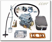 Carburetor  Weber Conversion Kit - 38mm - w/Gas Pedal