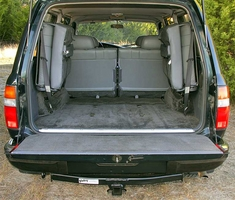 Cargo Area & Rear Folding Seats - Hitch