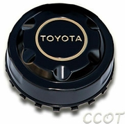 Center Cap-Rear w/Gold Ring & Ltrs- 1ea - 8/80-1/90 -  TOYOTA