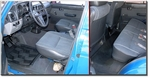 Click...  Interior, Front and Rear Seats