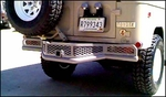 <-Click photo to enlarge and see rear Safari Bumper painted pewter color