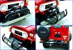 <-Click to Enlarge Photo, View of front bumper system  w/ Load-N-Go Winch System