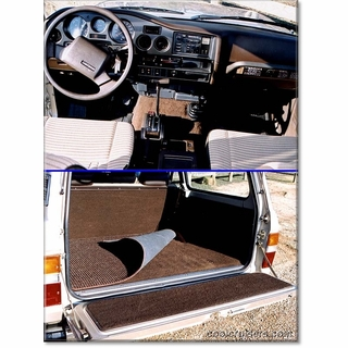 Click to View Dash and Cargo Bed w/mat