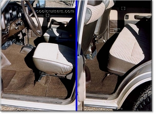 Click to View Seats and Carpet