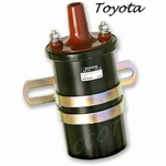 Coil - Ignition w / Internal Resistor - DENSO - TOYOTA