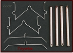 Disc Brake Hardware Kit - Front - 1/75-1/90 - TOYOTA
