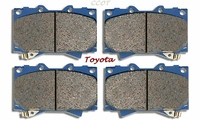 Disc Brake Pads -  Front - Series 100 -  8/01-8/05  - TOYOTA