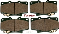 Disc Brake Pads -  Front - Series 80  -  1/90-8/96  - TOYOTA