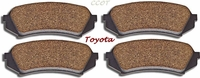 Disc Brake Pads -  Rear - FZJ80 -  1/98-8/05  - TOYOTA