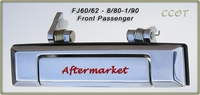 Door Handle - 1ea - Chrome - F/Passngr/Right Side - 8/80-1/90 - Aftermarket