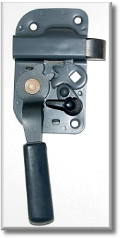 Door Handle - Passngrs Paddle Handle -  Front or Rear Door - Aft Mrkt
