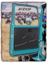 Door Panel - Serengeti