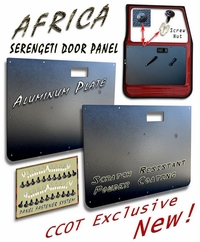 Door Panel - Serengeti - Pair w/Fasteners