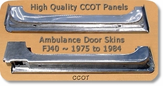 Ambulance Door Skins