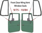 Door Wing Vent Glass Seal