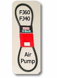 Fan Belt - Air Pump-  FJ40  FJ60-  8/80 - 8/87 - TOYOTA