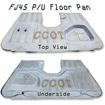 Floor Pan FJ45 P/U