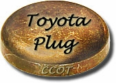 "Freeze Plug - Block -  25mm or .98"" -  2F  - TOYOTA"