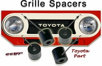 Grille Spacer Kit - FJ40/45  - '58 to '78 - 4ea - TOYOTA