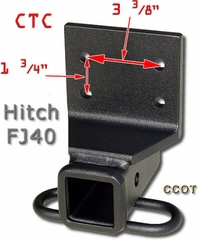 Hitch Bolt Pattern Measurements
