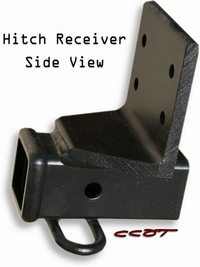Hitch Receiver Side View