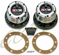 Hubs Locking AVM - Fits '58-'75 - FJ40 - 6-Spline - Pair