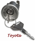 Ignition Key & Cylinder - Lockable - 40 Series - 9/72 to '84 - TOYOTA
