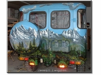 James L. Langston's FJ40  Mural