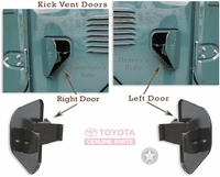 Kick Vent Door - TOYOTA