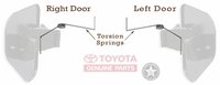 Kick Vent Door Torsion Spring - TOYOTA