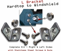 L Bracket - Hardtop to Windshield