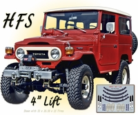 Lift Kit - FJ40x HFS Extreme - 1961-7/80 -  Suspension Correction Lift Kit