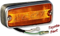Light- Marker- Front - FJ40 Left Side (Driver's)  10/69 - 12/74 - TOYOTA