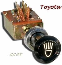 Light Pull Switch - 68-9/71 - TOYOTA