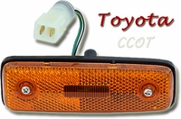 Marker Light  - Yellow - Driver Side -  8/80-90 - TOYOTA