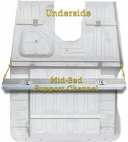 Mid Bed Support Channel Front by HFS� - 40 Series 1/'75 to 12/'78