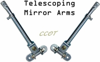 Mirror Arms - Telescoping w/Ball Screws - Pair - by CCOT