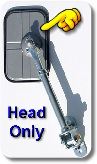 Mirror Hinge Head (only)  1ea -  FJ40/45 - TOYOTA