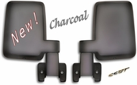 Mirrors - FJ60  FJ62 - Charcoal Gray- Pair