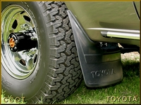 """Mud Flap, """"A"""", Front Driver's Side~Toyota"""