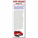 Off-Road Magazine Article on CCOT Body Panels