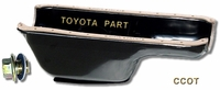 Oil Pan w / Plug ~  58 to 8/'87 ~ TOYOTA