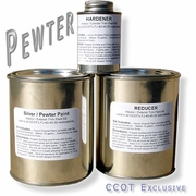 Paint ~  Trim<BR>Silver / Pewter