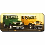 "Pic / Info...1983 FJ-40 Painted Original ""John Deere Green"", Sold"