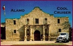 Pic / Info...Cool Cruiser poses at ALAMO